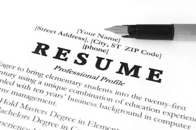 RESUMES & INTERVIEWS
