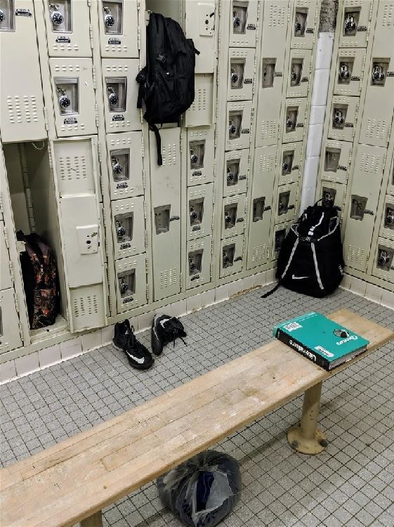 Some lockers are NOT being locked!
