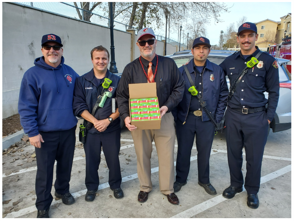 Thank You East Contra Costa Fire Protection District!