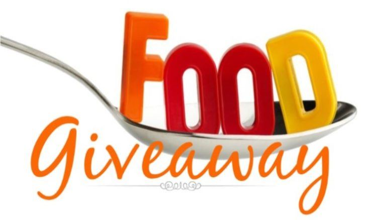 Free Food Giveaway Every Wednesday at AMS, 1:10 pm @ Cafeteria