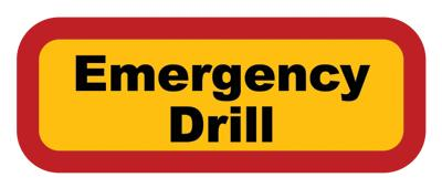 Safety drill on July 10 at AMS