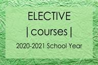 Elective Choice Survey for 2020-2021 School Year