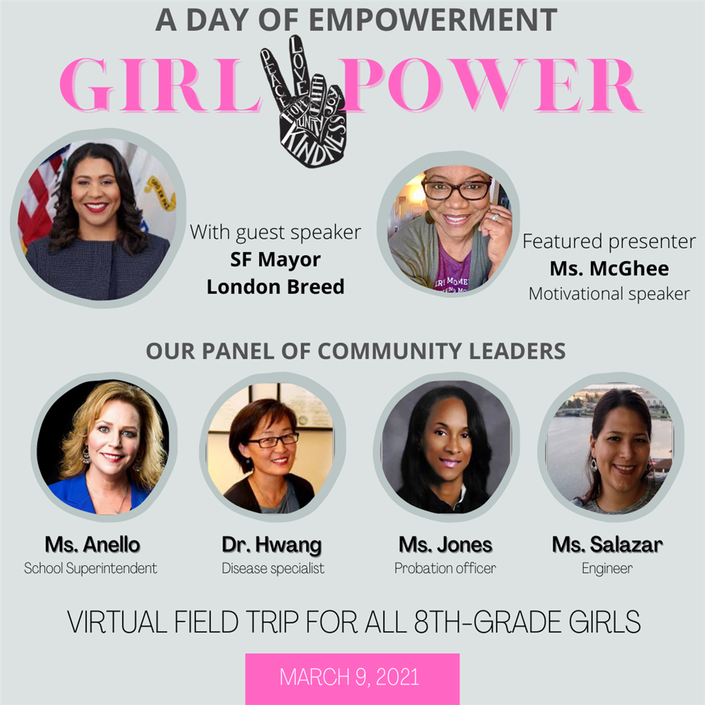 March 9, 2021 Girls Empowerment Event