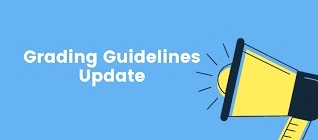 Updated grading guidelines