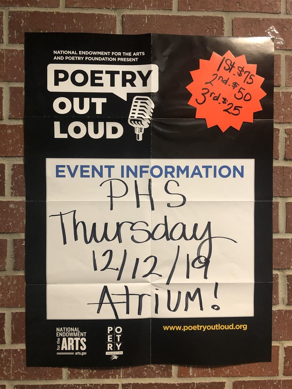 Poetry Out Loud!