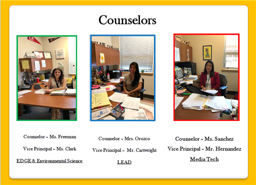AHS Counselor Team