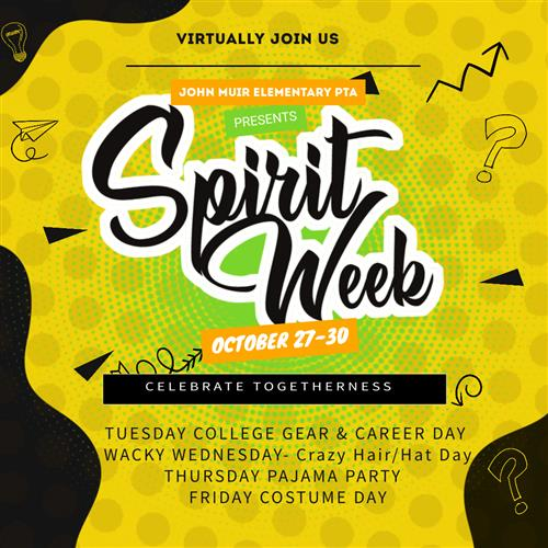 Spirit Week Image