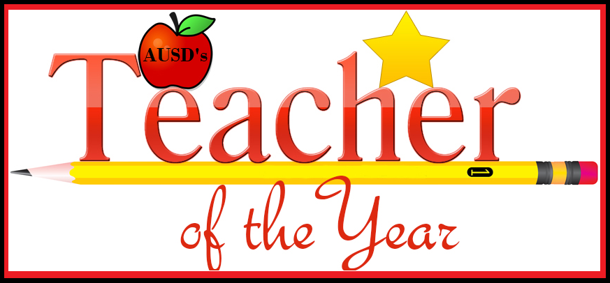 We are Proud to Announce the 2021 - Teacher of the Year!