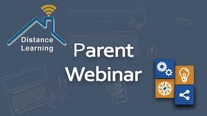 Parent Webinars - Reopening Plan