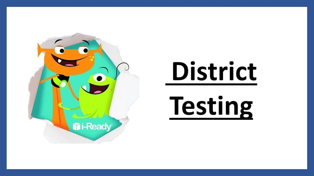 District Testing Title