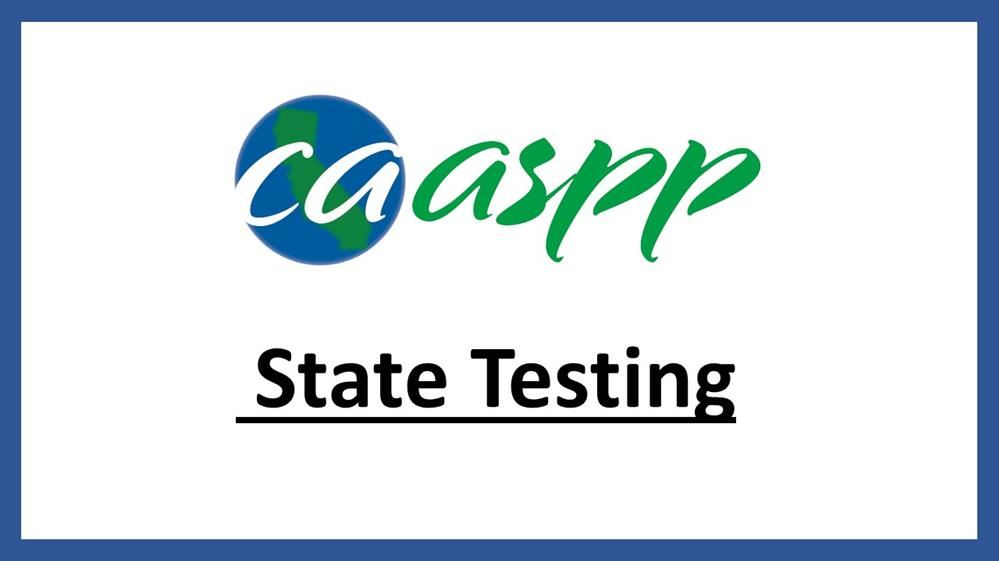 CAASPP State Testing Title