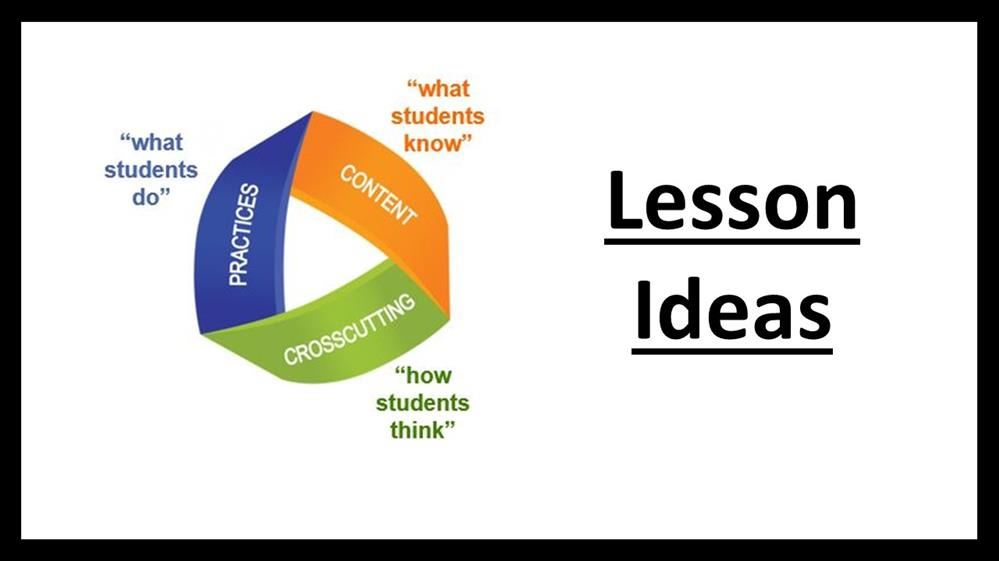 ngss lesson ideas